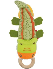 "Развивающая игрушка на коляску ""Крокодил"" Skip Hop"