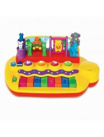 """Развивающая игрушка """"Пианино с животными на качелях"""" Kiddieland"""