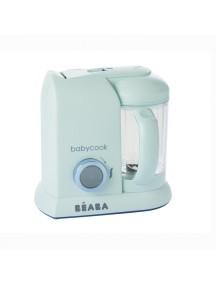 """Блендер-пароварка Beaba """"Babycook Solo"""", 912606 / Macaron Aquamarine"""