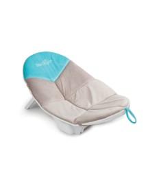 Шезлонг для купания Baby Delight серо-голубой