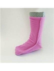 Детские флисовые термоноски для резиновых сапог от КидОРКА (KidORCA) Цвет Розовый