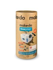 """Конструктор MAKEDO """"Комплект для троих"""", 165 деталей"""