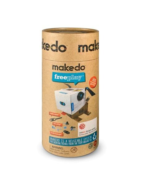 Конструктор MAKEDO KT03-002 Комплект для троих, 165 деталей