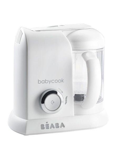"Beaba ""Babycook Solo"" Блендер-пароварка , 912675 / White silver EU"