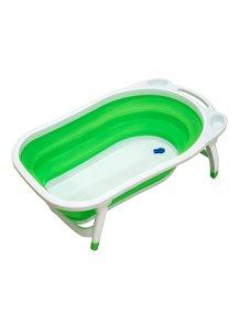 """Ванна детская складная Funkids """"Folding Smart Bath"""", CC6600, зеленая"""