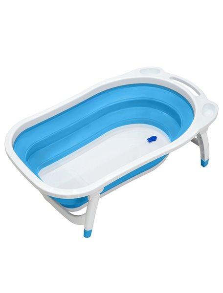 """Ванна детская складная Funkids """"Folding Smart Bath"""", CC6602, голубая"""