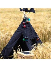 Черный вигвам ручной работы для детей Black Hawk, «Чёрный ястреб»