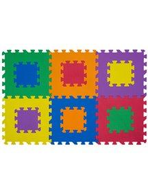 """Коврик-пазл 15 мм (6 плит) - Серия NT Funkids """"Мозаика-12"""" [ art. KB-049-6M-NT ], 01"""