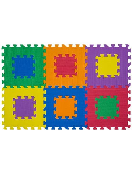 """Коврик-пазл 12"""" без изображений - NT Funkids """"Мозаика-12"""" [ art. KB-049-6M-NT ], 01"""