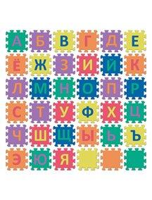 """Коврик-пазл 15 мм (36 плит) с русским алфавитом - Серия NT10 Funkids 6"""" """"Алфавит-3-10"""" [ art. KB-001-36-NT10 ], 01"""