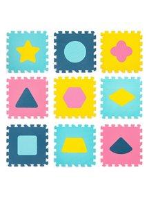 """Коврик-пазл 15 мм (9 плит) с фигурами - Серия NT Funkids 12"""" """"Геометрия"""" [ art. KB-D20C-9-NT ], 08"""