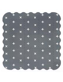 """Коврик-пазл 15 мм (9 плит) с графикой - Серия NT Funkids """"Бебиарт-12"""" [ art. KB-090-25-NT ], 12"""