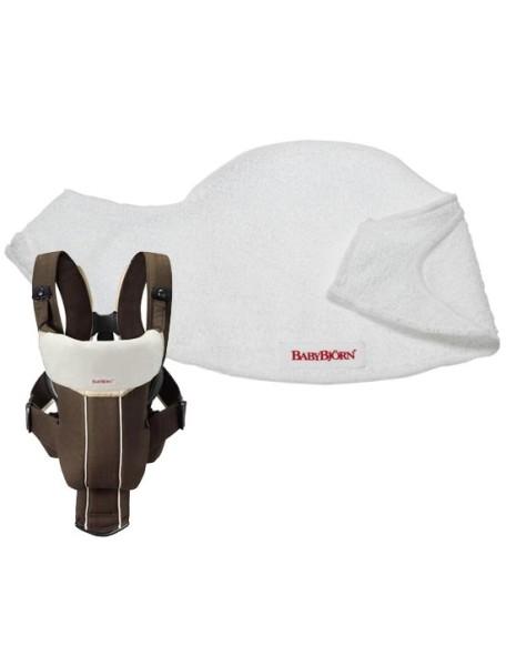 Нагрудник к рюкзаку кенгуру Original, Active, Synergy, Miracle от  BabyBjorn Белый
