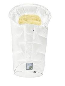 Конверт для новорожденных Odenwalder Lammy weiss Белый