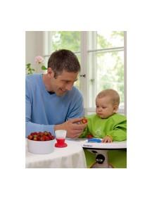 """BabyBjorn """"Eat and Play Smock"""" Защитная рубашка для кормления и игры, Зеленая"""