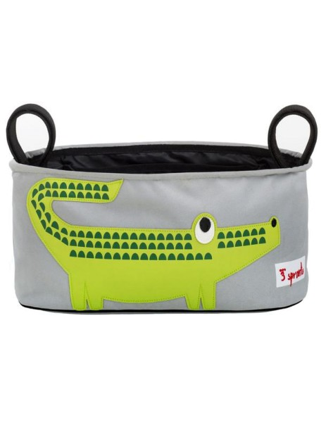 Подвесная сумочка-органайзер «Крокодил» для коляски от 3 Sprouts