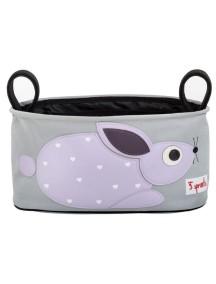 Подвесная сумочка-органайзер «Кролик» для коляски от 3Sprouts
