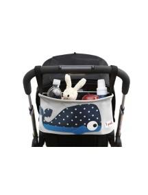 Подвесная сумочка-органайзер «Кит» для коляски от 3Sprouts